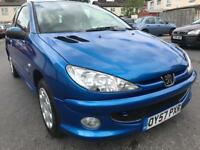 2007 PEUGEOT 206 LOOK 1.4 HDI / DIESEL / EXCELLENT CONDITION/ FULL STAMPED SERVICE HISTORY / £1000