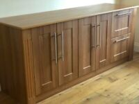 Office Filing and Storage Large Solid Wood Cabinet 200cm Length!!
