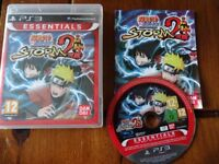 PLAYSTATION 3 GAME FOR SALE ULTIMATE NINJA STORM 2 excellent condition with instruction manual