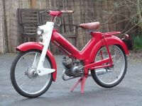 VINTAGE CLASSIC 1961 NORMAN NIPPY AUTOCYCLE MOPED 90% COMPLETE ORIGINAL REGISTRATION RALEIGH RM4 RM6