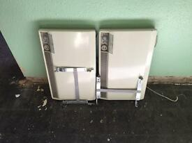 Two convector heaters