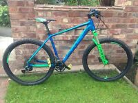 "Cube ltd race 2015 hardtail,20"" frame,27.5 wheels,manitou lockout forks,shimano Slx shifters"