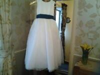 Childs Bridesmaid Dress.