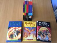 Selection of Harry Potter books