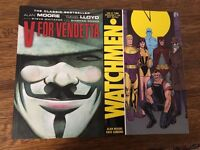 V for Vendetta and Watchmen Comics