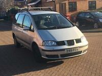 2002 SEAT ALHAMBRA 7 SEATER STARTS AND DRIVES CLUTCH SLIPPING BUT DRIVES GALAXY SHARAN TDI PX