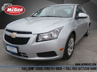 2014 Chevrolet Cruze LT Turbo - Touch Screen, Rear Cam, BlueToot