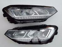 Car part OEM right hand drive UK Type LED Bixenon ALS headlights VW Touran 2 5T 2015-2016 RHD