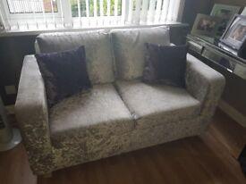 Velvet crush 2 seater sofa