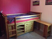 JUlian Bowen mid sleeper cabin bed