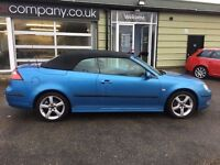SAAB 9-3 1.9 TID VECTOR CONVERTIBLE - FINANCE AVAILABLE
