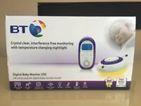 BT Digital Baby Monitor 250