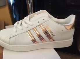 Adidas superstar and gazelle can deliv local or post
