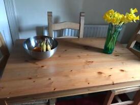 Wooden table Ikea