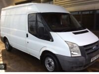2008 57 ford transit mwb m roof white full service history no vat may px