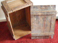 Interesting Heavy Duty Rustic Cargo Storage Packing Crate