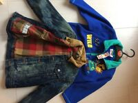 2 x jackets 3-4 years old