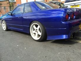 nissan skyline r32 rare rust free manual rb20det engine rb25det gearbox drift jap px swap try me