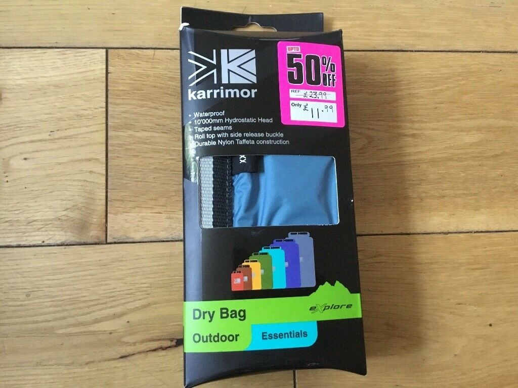 Karrimor Rucksack Liner Dry Bag Light Blue 70 Litres