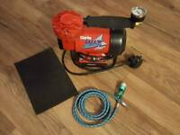 Clarke Wiz Air Compressor and accessories