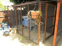 Large Chicken Run / Bird Cage / Avery / Animal Enclosure 10ft x 6ft x 5ft