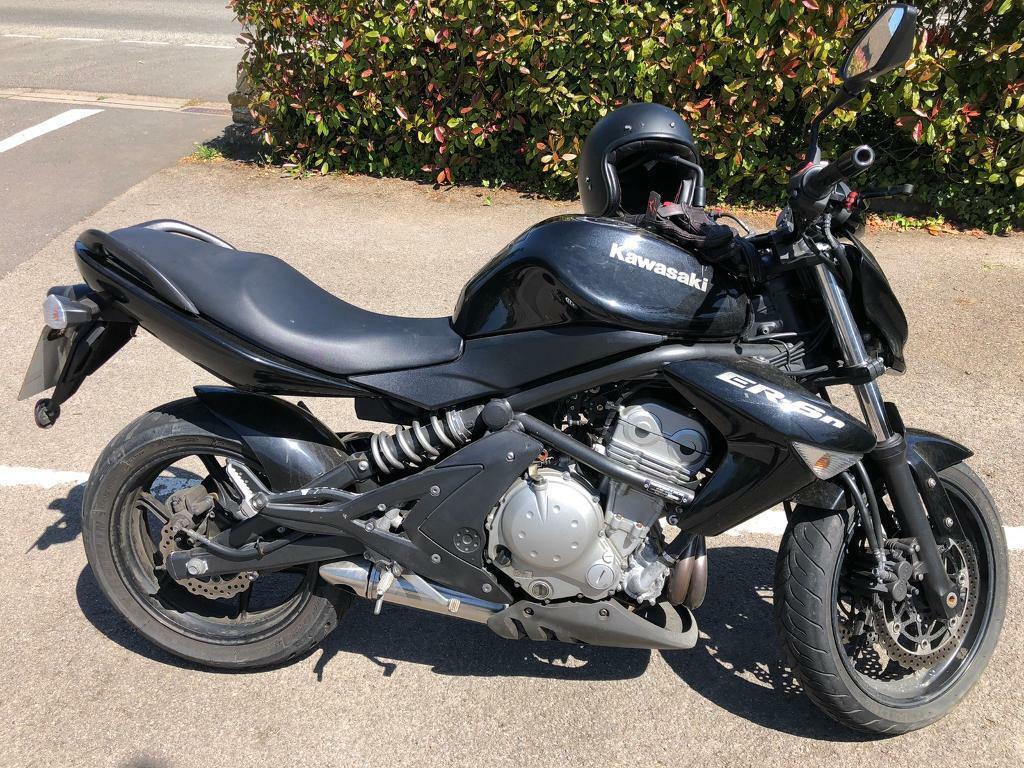 Probamos la Kawasaki ER-6n 2008