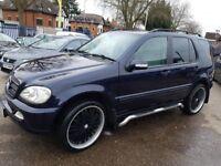 Mercedes ML270 W163 2.7 DIESEL CDI 5 seater. Dark Blue