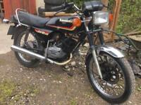Classic Kawasaki kh125 Kh 125 kh-125 2 stroke 125cc 1990