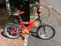 "Boy's Bumper Firepower 18"" tyre bike"