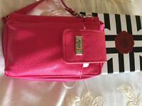 Something special pink wallet new in box holds phone credit cards etc .