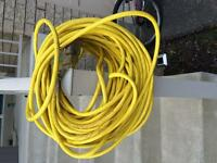 50 FOOT EXTENSION CORD. OUTDOOR USE/HEAVY DUTY