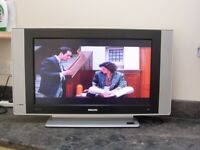 PHILIPS 26inch COLOUR TV, (works as a monitor only)