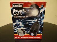 Solar motion senser outdoor light