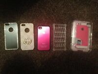 Excellent brand new unused iPhone 4/5 covers.
