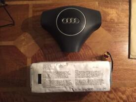 Audi A4 b6 airbags drivers and passengers 2001>2004