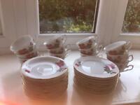 12 piece china Tea Set