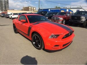 2013 Ford Mustang / BOSS 302 / 6 SPEED / A STANDOUT IN THE CROWD