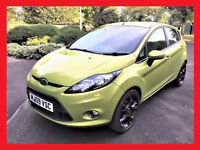 (LEATHER Seats) --- 2009 Ford Fiesta 1.4 Zetec --- 51000 Miles --- 5 Door --- TopSpec -- Ford Fiesta
