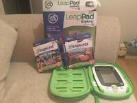 Leap pad explorer