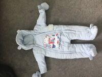 Boys Snowsuit 6-9 Months