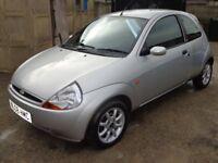 2008 Ford Ka Zetec Climate 1.3 Petrol Silver 3 Door FSH Low Miles Long MOT & 3 Months Warranty