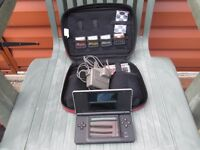 Guitar Hero Nintendo DS Lite Bundle with 4 Guitar Hero Games and charger, Stylus and Special case