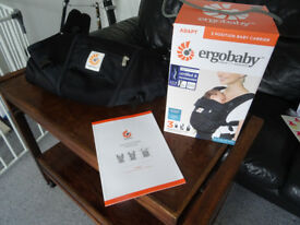 Ergobaby Adapt Baby Carrier: Cool Air Mesh - Onyx Black (as new condition)