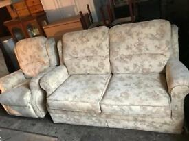 Very nice Sofa Bed and electric recliner chair Can deliver