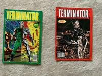 RARE Terminator comic 1st & 2nd issue