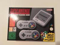 Nintendo SNES Mini Classic Brand new