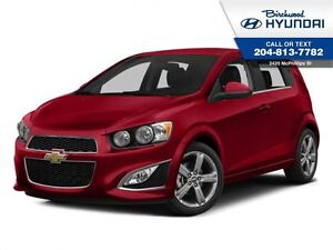 2013 Chevrolet Sonic RS *Turbo Sunroof *Rear Cam W/ Navigation
