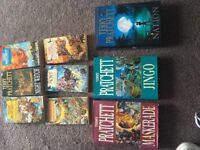 Collection terry pratchett books discworld truckers fifth elephant colour of magic mort