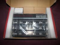 Rocktron MIDI Raider , MIDI Footcontroller Pedal for Guitar and Bass. / Brand New !
