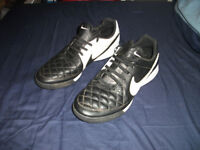 nike tiempo astroturf trainers size uk8 superb used condition